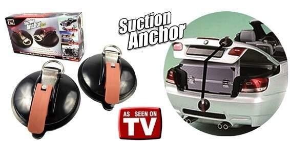 """Вакуумный держатель багажа """"SUCTION ANCHOR"""""""
