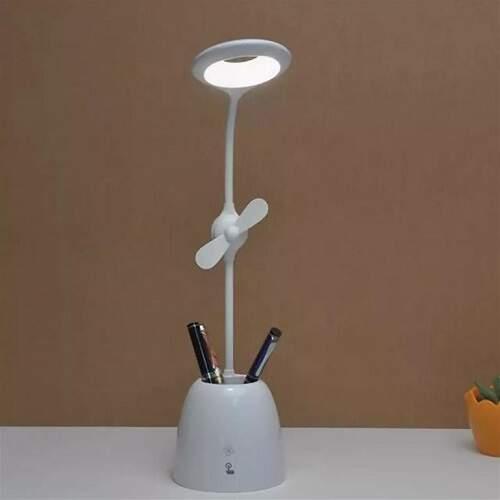 Настольная лампа для школьника с вентилятором Star Pie