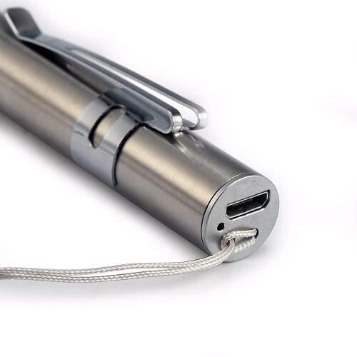 Светодиодный фонарик аккумуляторный