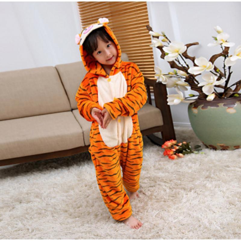 Детская Пижама Кигуруми Тигр