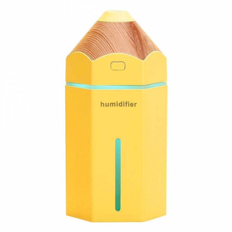 "USB увлажнитель воздуха ""Карандаш"" желтый"