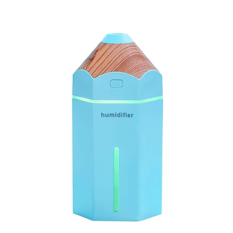 """USB увлажнитель воздуха """"Карандаш"""" голубой"""