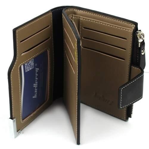 Мужское портмоне Baellerry D1282 темно-коричневое