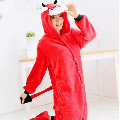 Пижама кигуруми Красный Бык