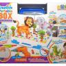 Детский развивающий конструктор с шуруповертом 198 деталей  Creative Magic Panel Animal