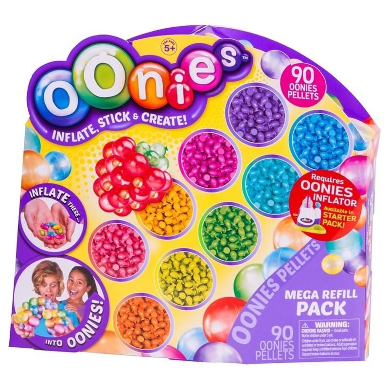 Дополнительные шарики к конструктору Oonies Mega Refill (90 частей)