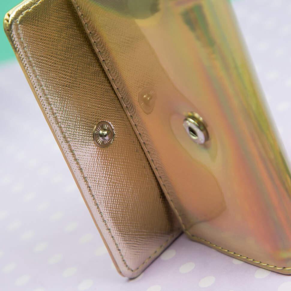 Голографический Кошелек для ключей и визиток
