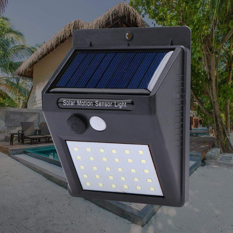 """Светодиодный уличный светильник с датчиком света на солнечной батареей """"Solar Motion Sensor Light"""" 35 светодиодов"""