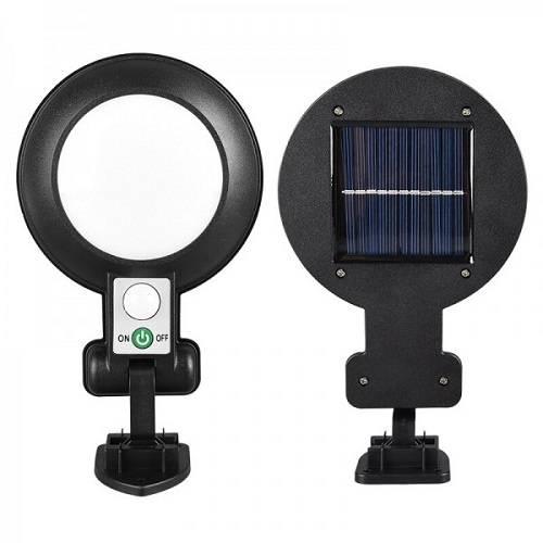 Светодиодный светильник с датчиком движения JX-166 на солнечной батарее