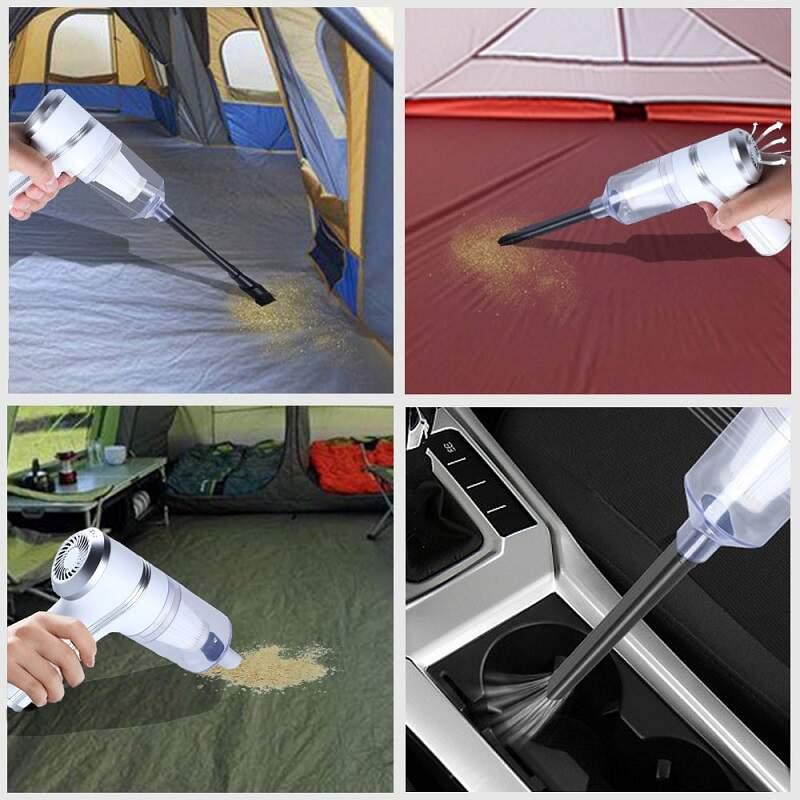 Беспроводной пылесос 2 в 1 Vacuum Cleaner