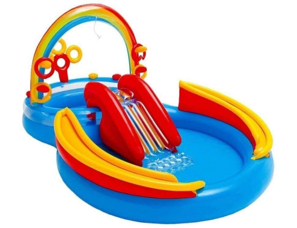 "Надувной центр INTEX ""Rainbow Ring Play Center"" 57453"