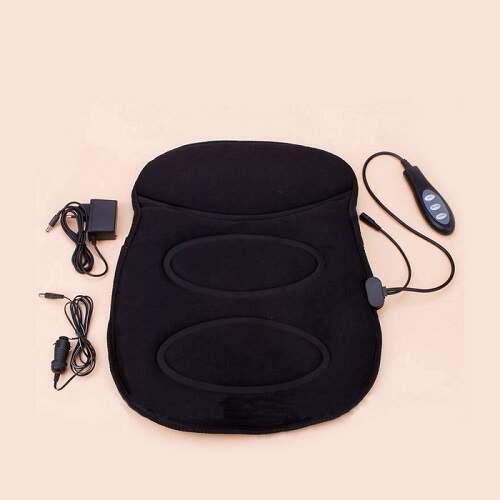 Массажная накидка с прогревом мини Robotic Cushion Massage