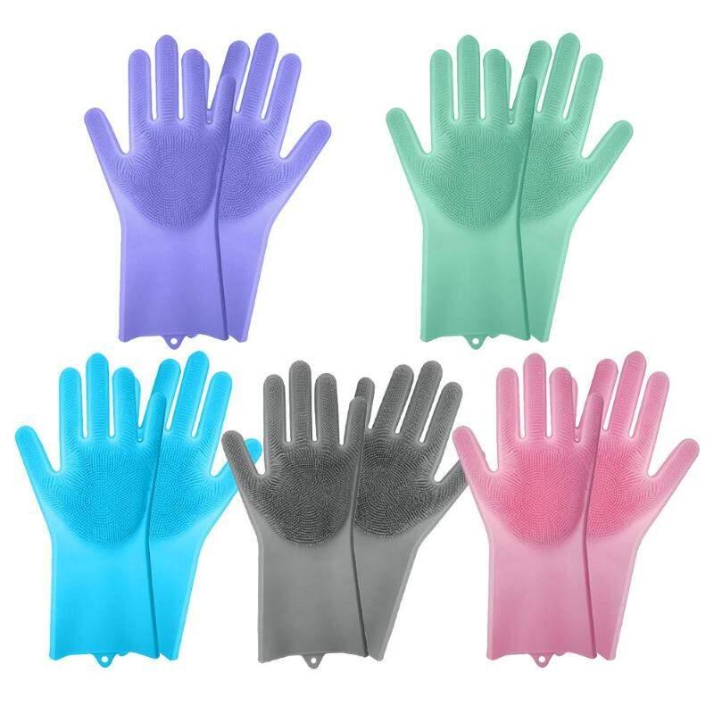 Многофункциональные силиконовые перчатки-щетки Better Glove