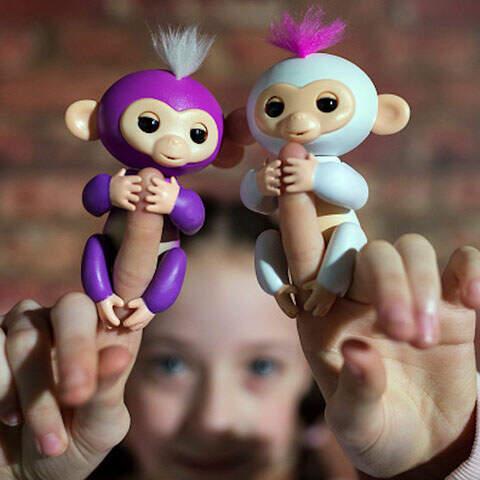 Интерактивная обезьянка Happy monkey