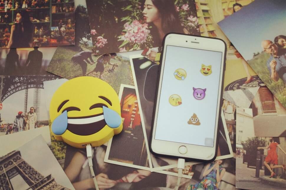 "Power Bank 2600 mAh Emoji ""Смех"""