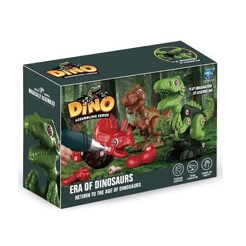 Детский конструктор Dino Assembling Series развивающий