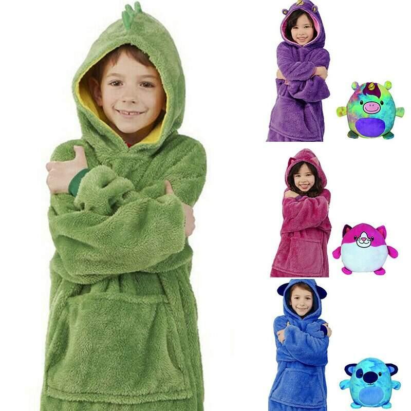 Детская толстовка - игрушка Huggle Pets Hoodie 2 в 1