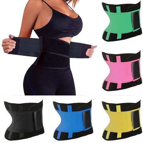 Пояс для похудения Belt Power Hot Shapers с держателями для поясницы