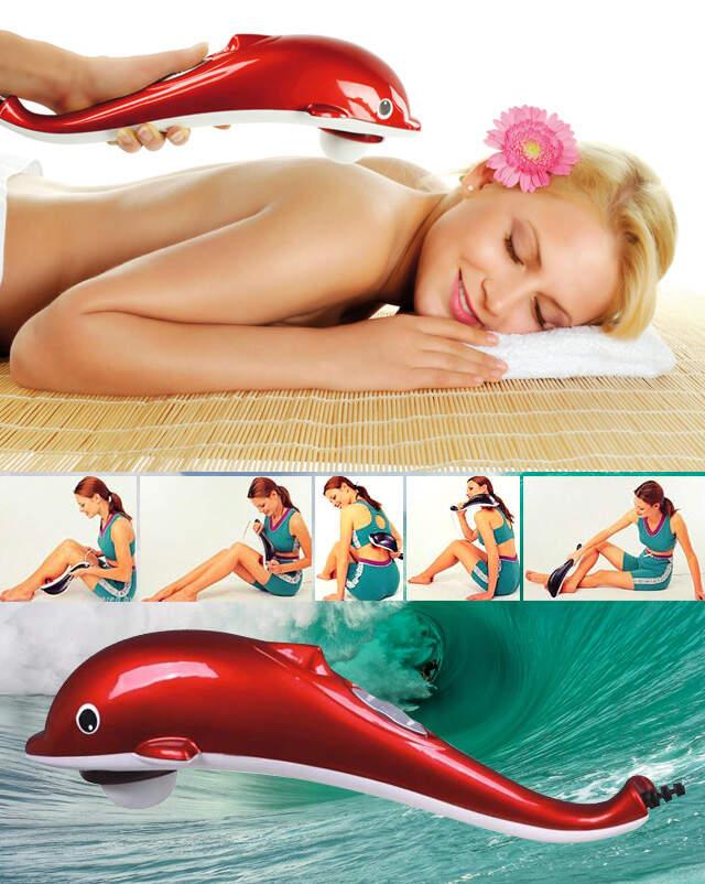 """Массажер ручной для ухода за телом """"Дельфин"""" Dolphin Massager"""