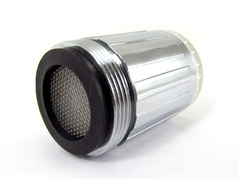LED Термочувствительная насадка на кран