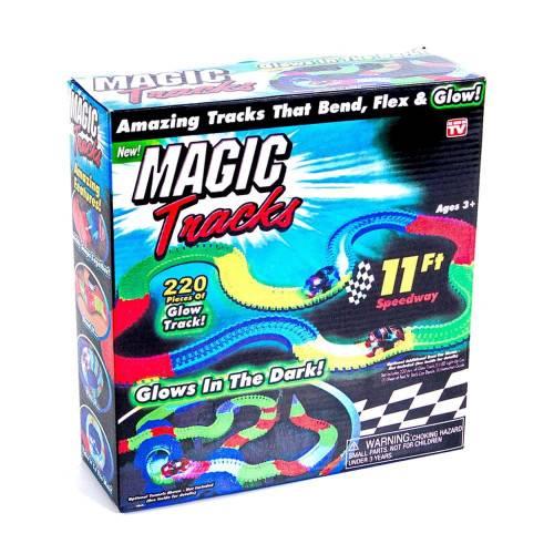Magic Tracks (Мэджик Трек) 220 деталей + 1 машинка
