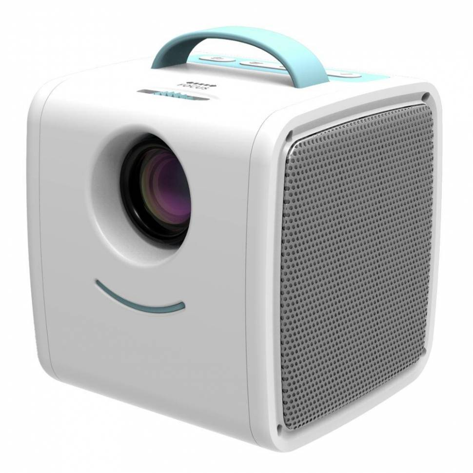 Детский мини-проектор куб Q2 Kid s Story Projector