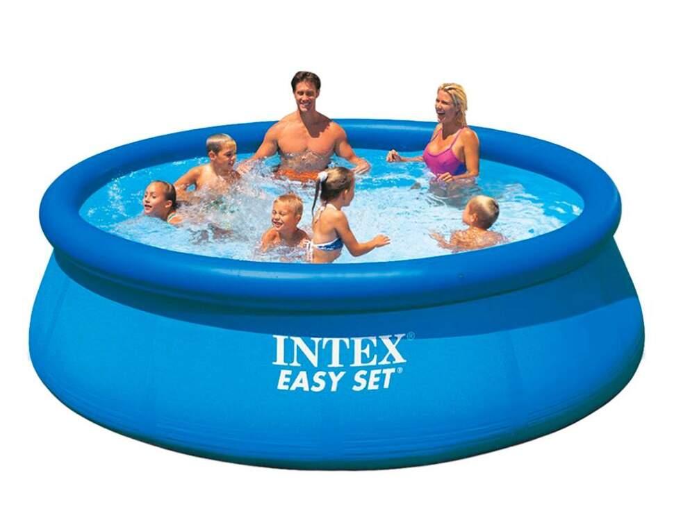 "Надувной бассейн Intex ""Easy Set"" (244x61 см.) артикул 28106NP"