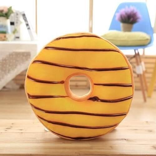 Декоративная подушка Пончик с Глазурью