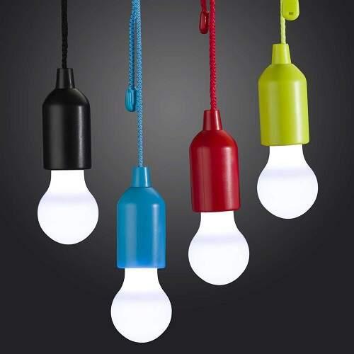 Светодиодный светильник Лампочка на батарейках