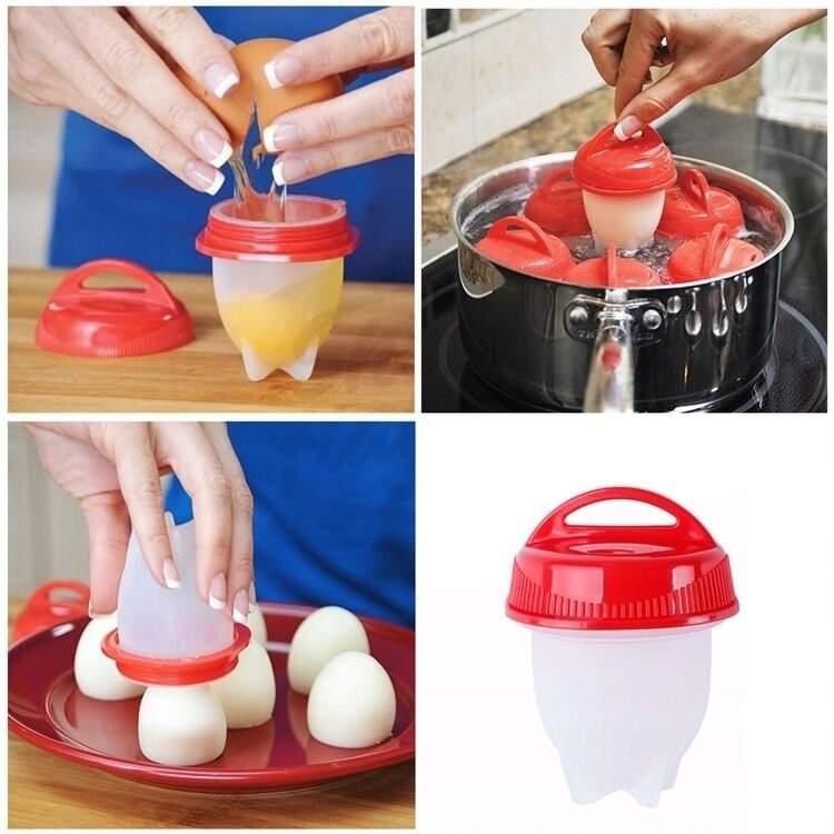 """Силиконовые формы для варки яиц без скорлупы """"Silicone Egg Boil"""""""
