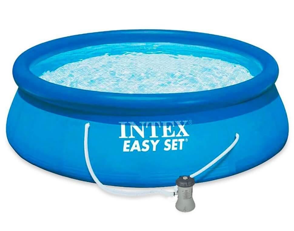 "Надувной бассейн Intex ""Easy Set"" (366x76 см.) артикул 56422"