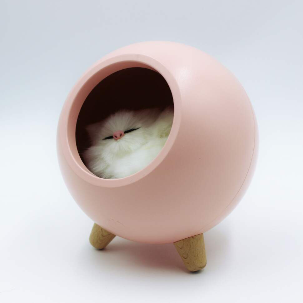 """Ночник сенсорный """"Домик для котенка"""""""