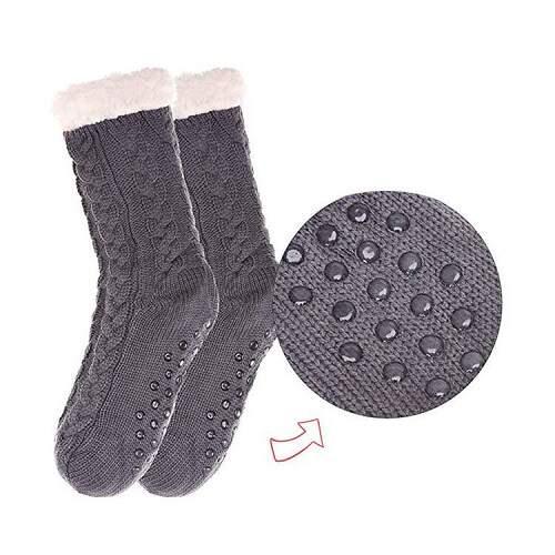 Носки-тапочки Huggle Slipper Socks плюшевые