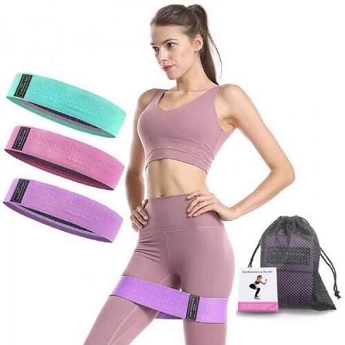 Резинки для фитнеса Hip Resistance Bands 3 шт.