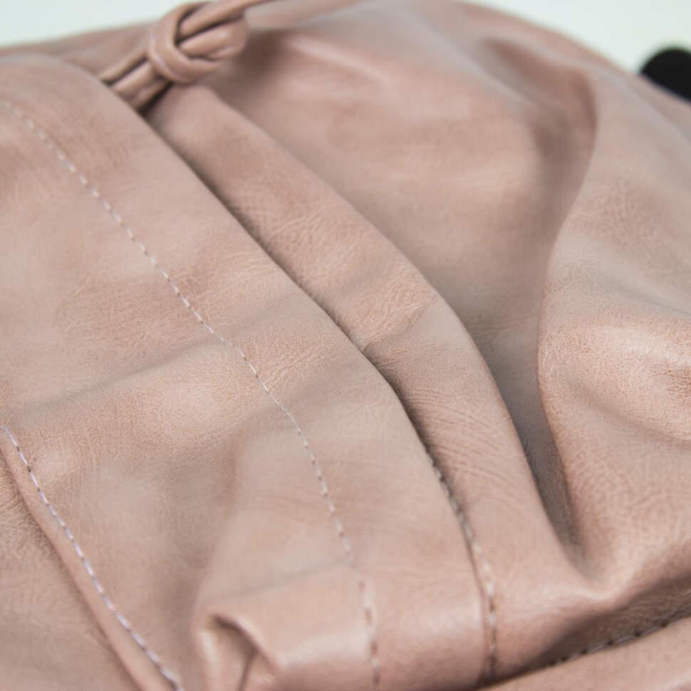 """Кожаный рюкзак """"Фламинго"""""""