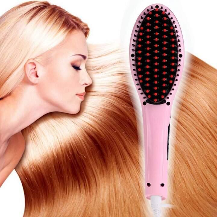 """Расческа-выпрямитель """"Fast Hair Straightener"""""""