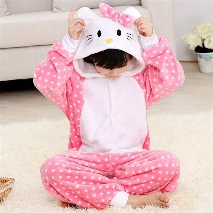 Детская Пижама Кигуруми Hello Kitty