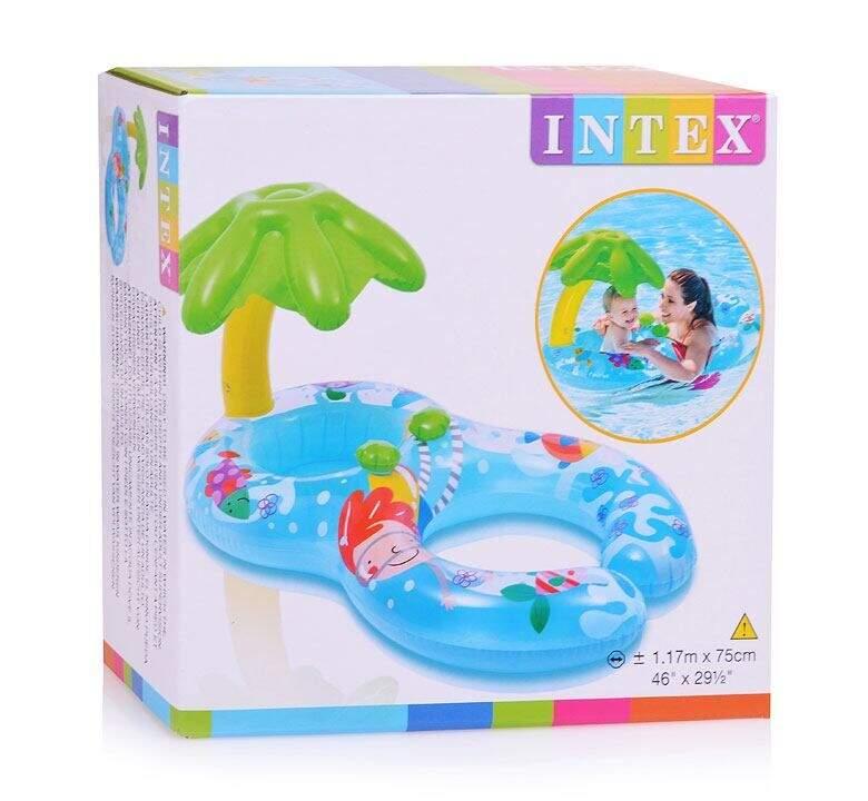 Надувной круг INTEX с сиденьем 56590