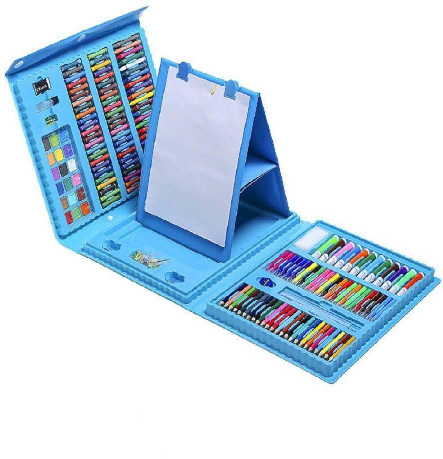Набор для рисования с мольбертом (208 предметов)