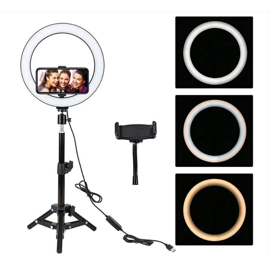 Кольцевая лампа со штативом Ring Fill Light с пультом ДУ