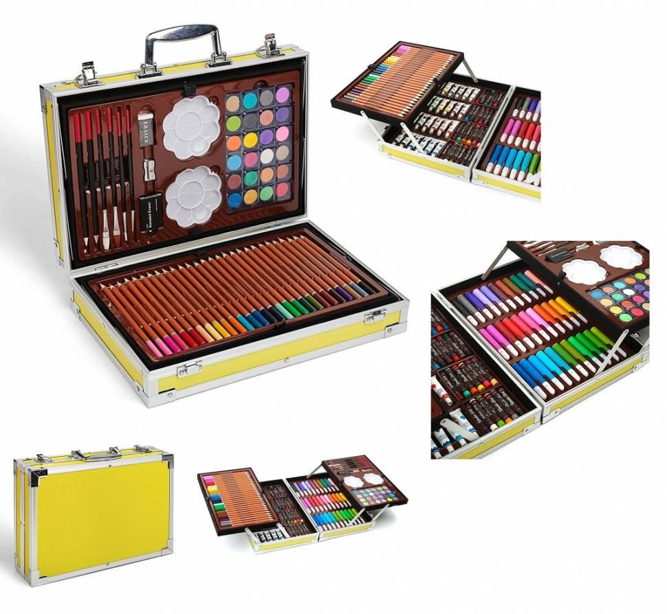 Набор для рисования в чемоданчике (145 предметов)