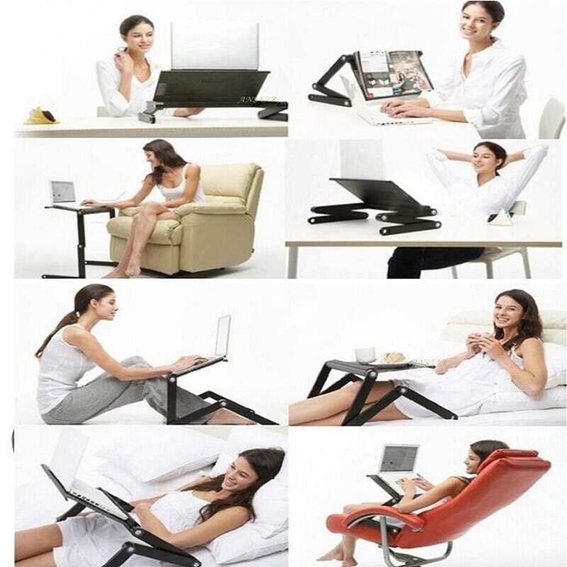 Столик трансформер для ноутбука Multifunctional Laptop Table T9 с охлаждением