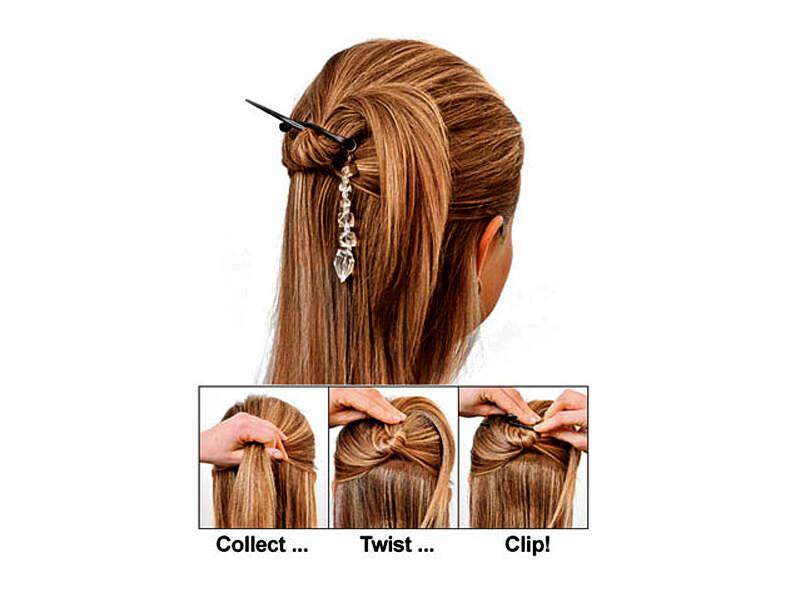 Заколка Twist N Clip