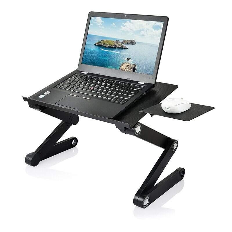 Столик трансформер для ноутбука Multifunctional Laptop Table Т8 с охлаждением