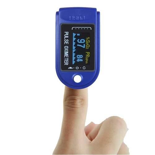 Пульсоксиметр (оксиметр) на палец