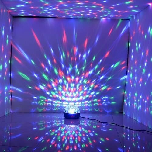 Диско-шар LED Crystal Magic Ball Light светодиоидный