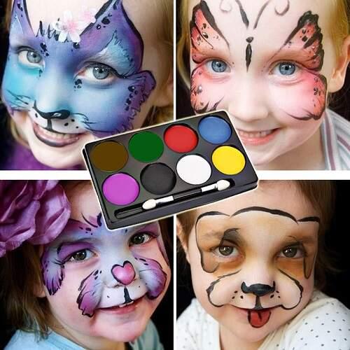 Аквагрим Face Paint 8 цветов