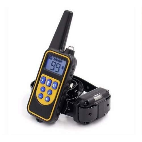 Дрессировочный электронный ошейник для собак 800 м влагозащищенный