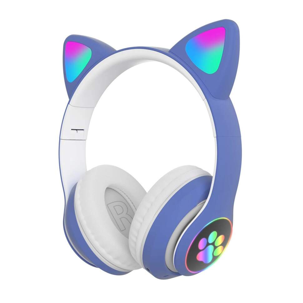 TWS наушники CAT STN-28 со светящимися ушками