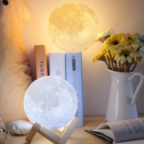 Светильник Луна 3D с пультом